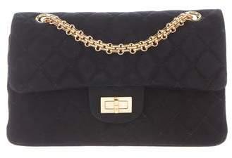 Chanel Suede 224 Reissue Double Flap Bag