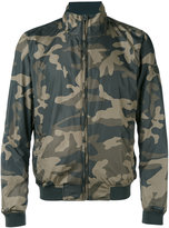 Woolrich camouflage reversible bomber jacket - men - Polyester/Polyamide - S