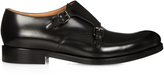 Valentino Double leather monk-strap shoes