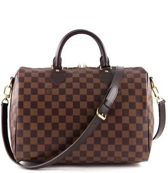 Louis Vuitton Speedy Bandouliere Damier Ebene (Without Accessories) 30 Brown