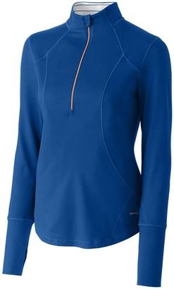 Cutter & Buck Women's Moisture Wicking UPF 50+ Long-Sleeve Nerina Half Zip Pullover