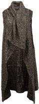 Lost & Found Ria Dunn - sleeveless cardigan - women - Silk/Wool - M