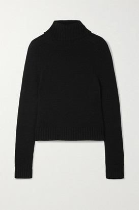 Nili Lotan Atwood Cashmere Turtleneck Sweater - Black