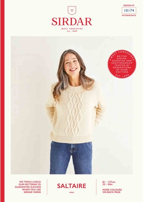 Sirdar Saltaire Jumper Knitting Pattern