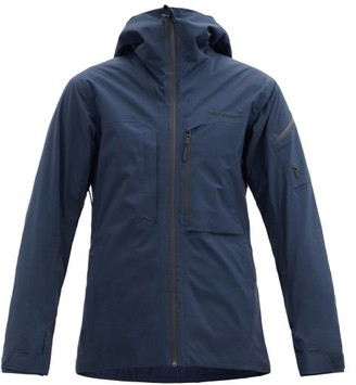 Peak Performance Alpine Hooded Gore-tex Ski Jacket - Dark Navy