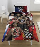 WWE Super 7 Duvet Set, Multi-Colour, Single