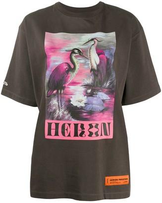 Heron Preston Heron print T-shirt