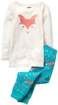 Crazy 8 Sparkle Fox 2-Piece Pajama Set