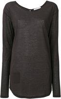 Humanoid oversized pocket T-shirt - women - Cotton - XS