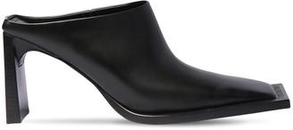 Balenciaga 90mm Flat Leather Mules