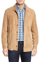 Peter Millar Men's Suede Shirt Jacket