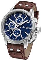 TW Steel 'CEO Adesso' Quartz Stainless Casual Watch, Color:Brown (Model: CE7009)