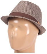 Fred Perry Houndstooth Trilby (Chocolate) - Hats