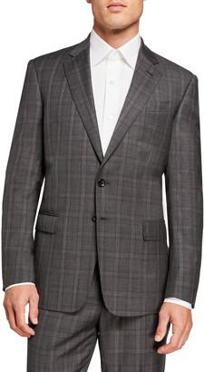 Giorgio Armani Men's Plaid Two-Piece Suit