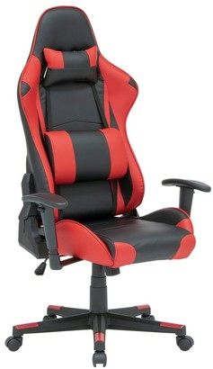 Studio Designs SD Gaming High Back, Ergonomic, Swivel, Height and Tilt Adjustable Gamer/Office Chair with Removable Lumbar and Headrest