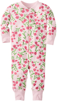 Hanna Andersson Pink Pretty Sweet Night Night Baby Organic Cotton Playsuit
