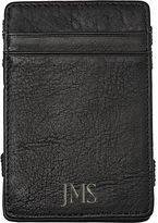 Asstd National Brand Personalized Columbian Leather Magic Wallet