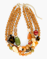 Chico's Kalani Short Multi-Strand Necklace