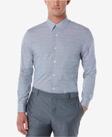 Perry Ellis Men's Mini-Check and Dot Long-Sleeve Shirt