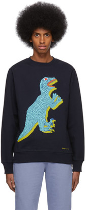 Paul Smith Navy Big Dino Sweatshirt