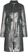 Cross-Print Rubber Coat