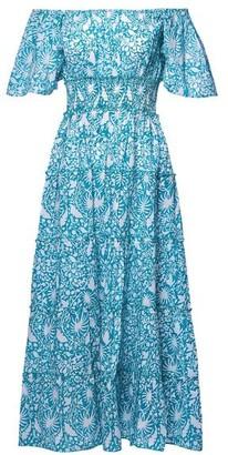 Pink City Prints - Spanish Rah Rah Mint Dress - X Small