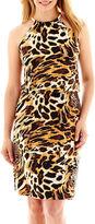 MSK Hardware Halter Blouson Dress - Petite