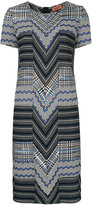 Missoni zig zag knitted dress