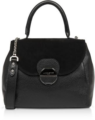 Lancaster Paris Foulonne Pia Leather Flap Satchel Bag
