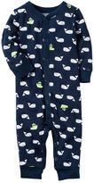 Carter's Baby Boy Print One-Piece Pajamas