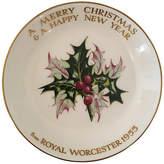 One Kings Lane Vintage 1955 Royal Worcester Porcelain Tray