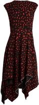 Proenza Schouler Leopard-print silk midi dress