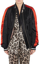 Haider Ackermann Women's Mixed-Media Bomber Jacket