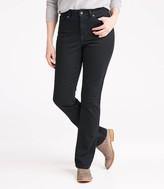 L.L. Bean L.L.Bean Women's True Shape Jeans, Classic Kick Boot