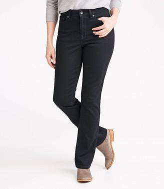 L.L. Bean Women's True Shape Jeans, Classic Kick Boot