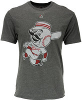 Majestic Cincinnati Reds MLB Men's Leadoff Cooperstown T-Shirt