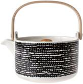 Marimekko Siirtolapuutarha Teapot - White/Black