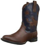 Roper Light Up Saddle Bronc Western Boot (Toddler/Little Kid)
