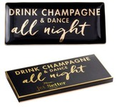 Rosanna Drink Champagne & Dance All Night Porcelain Trinket Tray