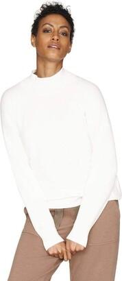 b new york Women's Conscious Long Sleeve Mock Neck Tunic Top