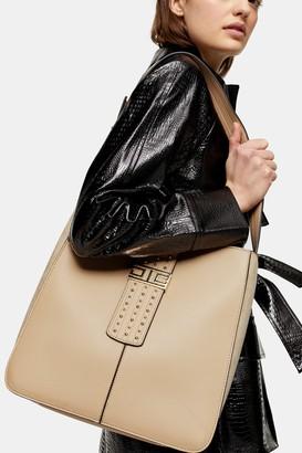 Topshop BRANDY Light Pink Hobo Bag