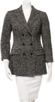 Dolce & Gabbana Patterned Double-Breasted Coat