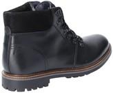 Base London Base London Fawn Burnished Leather Lace Up Boot