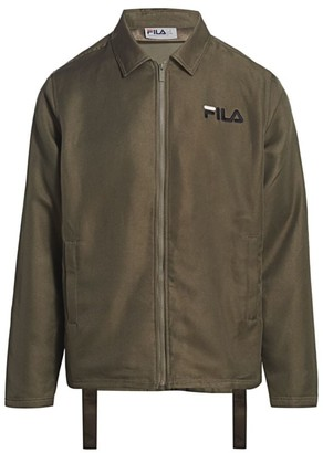 Fila Zip-Up Coach Jacket