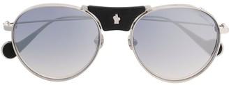 Moncler Eyewear tinted aviator sunglasses