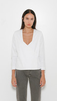 Won Hundred Tracy Cross Front Blouse