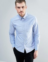 Celio Oxford Shirt with Button Down Collar
