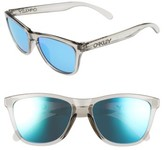 Oakley Women's Frogskins 54Mm Sunglasses - Crystal Clear/ 24K Iridium