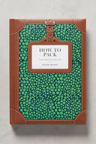 Anthropologie How To Pack