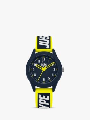 Hype Children's Just Silicone Strap Watch